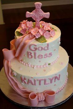 Hygrangea Communion Cake
