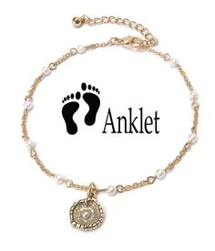 Mother Of Pearl Onyx Coral Anklets Foot Bracelet Anklet Gemstone Mothers Day Gif To Suit The PeopleS Convenience Jewelry & Watches