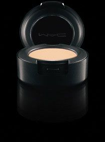 MAC highly pigmented eyeshadow.  Applies evenly, blends well.  $15 Choose a Finish:  frost, lustre, matte, matte 2, Satin, Veluxe Pearl, Velvet