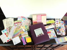 Blog and life planner - Filofax Finchley with stickers, stickers, stickers!  #filofax #finchley  http://pink-hi-top-adventures.blogspot.com/