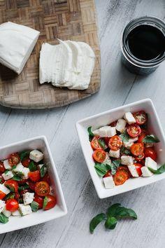 Mozzarella salad. #CHARLIEWINES