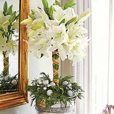 101 Fresh Christmas Decorating Ideas | Create a Topiary That Belies Its Ease | SouthernLiving.com