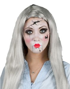 World's Halloween Costume Store Halloween Doll, Spirit Halloween, Halloween Make Up, Halloween Face Makeup, Halloween Costumes, Halloween Ideas, Halloween Party, Zombie Makeup, Makeup Kit