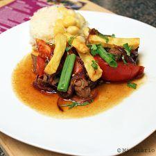 Lomo Saltado Lomo Saltado, Chefs, Poultry, Steak, Mandarin Oriental, Food, Baguette, Nevada, Cake