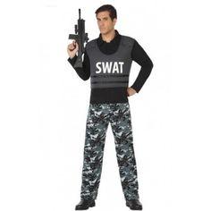 Disfraz de SWAT para hombre #Policia #Adulto #SWAT