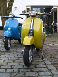vespas - rode around on one in high school.  Kinda want to get one for summer time exploring.