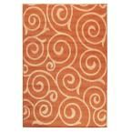 Home Decorators Collection Whirl Terra/Natural 5 ft. 3 in. x 7 ft. 6 in. Area Rug-0527710860 - The Home Depot