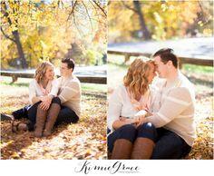 www.kimiegracephoto.com - Gorgeous warm couples engagement photography, Chico California