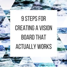 How to create a vision board | lifestyle tips and inspiration