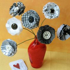 Disney Mother's Day Craft: Scented Paper Flowers  | Spoonful