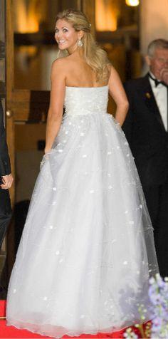 Princess Madeleine of Sweden (not her wedding gown)