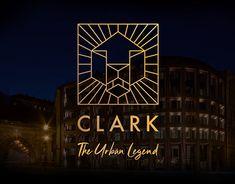 Hotel Clark Budapest (Adults only) **** Branding Identity Design, Logo Design, Urban Legends, Carpet Design, Adults Only, Design Awards, My Works, Budapest, Logo Branding