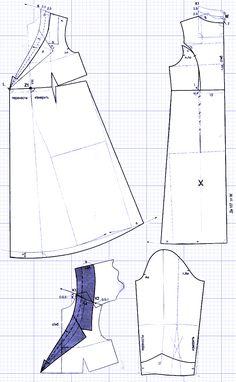 Выкройка платья для беременных. Как сшить платье для беременных?