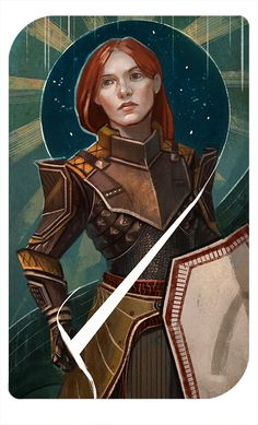 #DragonAge | DAI Inquisitor Athora by Aloija.deviantart.com on @DeviantArt
