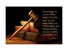 Matthew 7: 1-5 The Word Judgw has many meaning & hebrew greek definitions but we are going to focus on the main three in the New Testament Greek. Krino - to judge by deterrming with law, diakrino - to distinquish between good and evil, katakrino - to condemn When reding concerning the word judge you need to make sure your reading the scripture in context with what is in the greek, meaning it's not always the same word in the text. Reading James 4:12 we know that this text is talking...