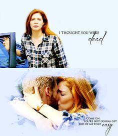 Under the dome - Mike Vogel - Dale 'Barbie' Barbara -Rachelle Lefevre - Julia Shumway - Barbie & Julia #Jarbie
