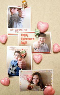 valentine cards - diy - I love this idea. Will wait for my daughter to be a bit in school to make these. :)