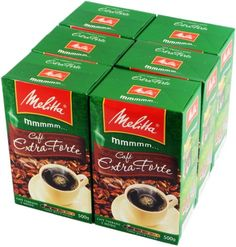 Melitta Extra Strong Roasted Coffee  176 oz  PACK OF 06 * You can find out more details at the affiliate link of the image.