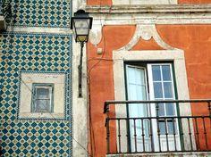 Lisboa, Portugal. Belém, Rua Vieira Portuense.