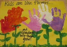 Artwork To Do For Toddler For Mothers Day Making Handprint Art Mothers Day Crafts For Toddlers