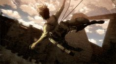 The 3DMG scenes in Attack on Titan are gorgeous