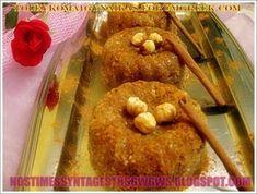 ΧΑΛΒΑΣ ΜΕ ΣΙΜΙΓΔΑΛΙ ΣΟΥΣΑΜΙ ΚΑΙ ΦΟΥΝΤΟΥΚΙΑ!!! - Νόστιμες συνταγές της Γωγώς!
