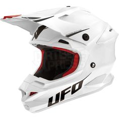 2015 UFO Interceptor Prime Helmet - White