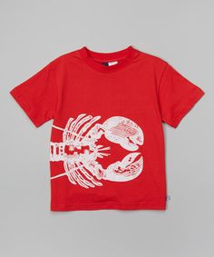 Another great find on #zulily! Red Lobster Tee - Infant, Toddler & Boys by Sophie & Sam #zulilyfinds