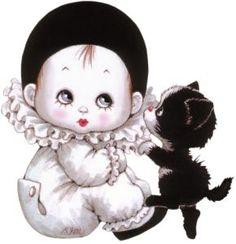 San Valentín | Día Amor y Amistad | Día de los enamorados | IMÁGENES PARA IMPRIMIR FRASES imagenes gifs jpg Illustrations, Illustration Art, France Art, Carnival Masks, Whimsical Art, Cat Art, Cute Cartoon, Cute Pictures, Cats And Kittens