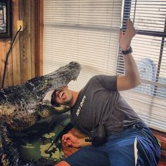 Chilling with dead alligators | Hey, What's Paul Walker Been Up To Lately?