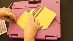 Crafter's Companion Creating Envelopes