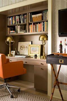 Design Detail: Home Office | Bear-Hill Interiors