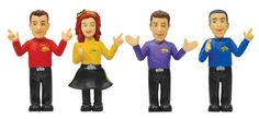 The Wiggles - 4pk Figures