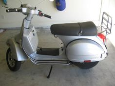 2005 Vespa PX150E Scooter , silver, 2,700 miles for sale in Lucedale, MS