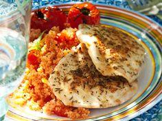 Provencen broileripihvit ja tomaatticouscous - Reseptit
