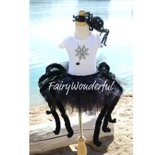 Spooky Spider Halloween Princess SEWN TUTU with dangling Chunky Spider Legs.Great for Halloween, Costume Parties, Photos and more. Great Halloween Costumes, Halloween 2014, Cute Costumes, Halloween Spider, Holidays Halloween, Halloween Kids, Halloween Crafts, Halloween Party, Halloween Decorations