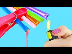 8 Crafting Life Hacks and School Supplies Ideas - YouTube
