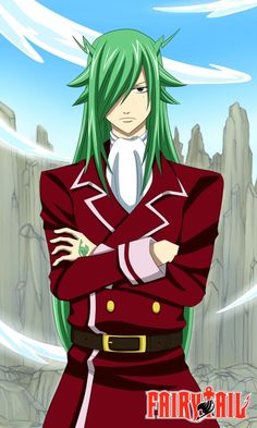 I love freed! He is so cool and fabulous. I love how he fangirls over laxus.