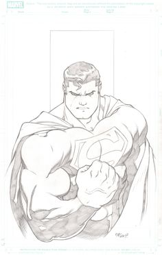 Superman commission - Ed McGuinness