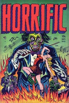HORROR ILLUSTRATED: 1950's Horror Comic Book Covers