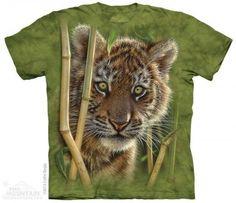 Baby Tiger - The Mountain - Koszulka z tygrysem - www.veoveo.pl