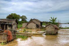 Tonle Sap Floating Village,Puok,Cambodia Tonle Sap, Cambodia, Explore, House Styles, Decor, Decoration, Decorating, Dekorasyon, Dekoration