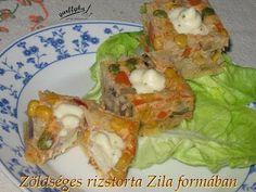 Rizstorta sajtmártással - Zila formában