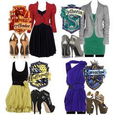 To bad I'm a Hufflepuff, I would look awesome in that Ravenclaw outfit :)