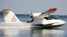 Possible mode of transportation for remote off-grid. take off/land via ground or water. wings fold in to be stored in garage. can be transported with normal trailer. Helicopter Plane, Sea Plane, Gypsy Living, Boat Engine, Flying Boat, Blog Images, Ways To Travel, Jet Ski, My Ride
