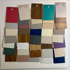 Great selection of 40 Formica samples in different textures and colors Formica Colors, Wedding Photo Albums, Mexican Folk Art, Different Textures, Atc, Floral Flowers, Flower Designs, Mixed Media, Collage