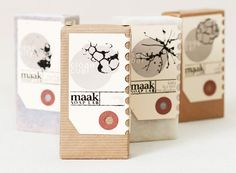 Sweet Soaps by Maak Soap Lab! Nice soap #packaging PD