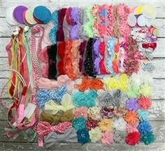 Baby Gift Ideas for baby girls - Headband Station Kit Idea. Great website for wholesale craft items.