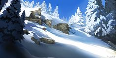 Mountain 06 by NURO-art on deviantART