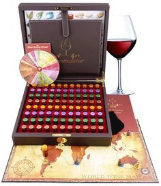 The Master Wine Aroma Kit is a wine tasting educational tool and a friendly game, genuinely designed by sommeliers as a library of wine scents. The Master Wine Aroma Kit created by Aromaster is the world most complete wine aroma collection, which combines 88 most common aromas found in sparkling,...